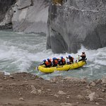 Lively rapids + amazing guides = delightful day with SunWolf!