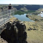 Dry Falls. One of our many stops on our tours.