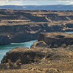 Dry Falls. One of our many stops on our tours. Washington States own Grand Canyon.