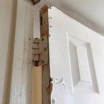 Door in need of repair