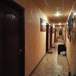 Das Mini-Hotel hat sechs Zimmer