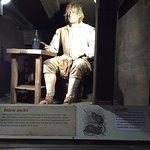 Animated speaker, William Stratchey a London writer and passenger on the Deliverance