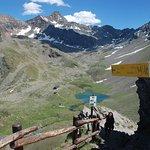 Rifugio Arbolle from the Colle di Chamole (2,600m)