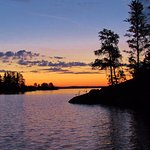 The sunrises and sunsets in Voyageurs National Park took our breath away.