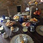 El desayuno.