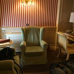 Sitting area with desk in Jr. Suite