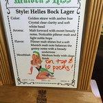 beer name