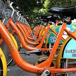 You can rent a Ubike to tour the area. Only 1 block away from the hotel.