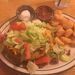 Pleasantly pleased. I had the Indian Taco, very tasty and reasonably priced. Well kept and clean