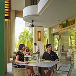 Located near to our family pool, Cool Bananas provides a family-friendly setting for parents and