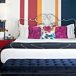 Stylish, Colorful Suites