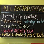 Today's specials -- not just for kiddies!