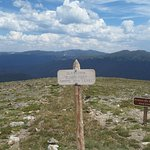 Elevation marker - yes, it's hard to breathe that high!