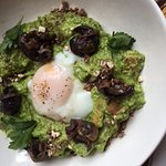 Escargot with Grits and Soft Egg