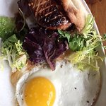 Goose Liver and Short Ribs with Egg