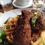 Fried Chicken and Waffle