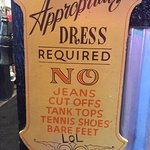 Love this dress code - LOL!!!!!!!