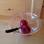 """l'incredibile """" cesto di frutta in camera di benvenuto"""" ..."""