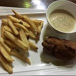 Cordon Bleu with chips