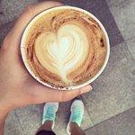 Capuccino de Virging Coffee