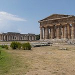 The excavations with their well-preserved Greek temples and excellent museum