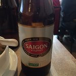 Great...imported Saigon Beer!