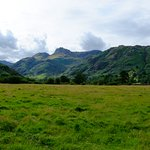 Journey past the Langdale Pikes skyline