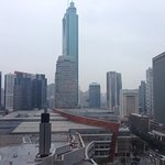 Various pics including the border from HK to china , view from the room....