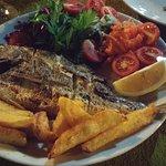 Fish plate at Arikanda restaurant