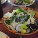 share the side salad