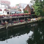 Terrace above the River Wensum