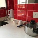 kitchenette cooking set