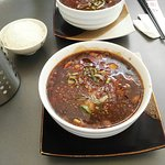 Spicy fish stew szechuan style