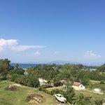 My hotel balcony view