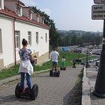 Der Guide kennt die besten Wege durch Vilnius