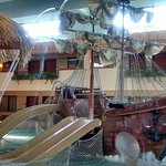 Smaller Slides on Pirate Ship for Younger Kids