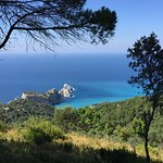 High above Kastro in the north of Skiathos.