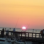 What a beautiful sunset at Baytowne Warf Village