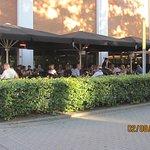Cafe Kik's terrasse.