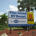 RV Resort Entrance