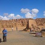 Sandskulpturfestival i Soendervig