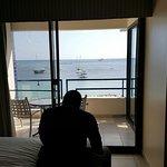 Bedroom view w/balcony