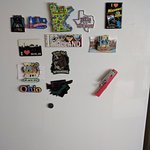 Bring a fridge magnet to represent your hometown!