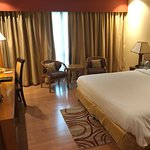 Very clean hotel very well maintained service was outstanding location was perfect right in the