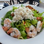 Seafood Cobb Salad $17 for lunch