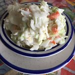 home made yummy coleslaw