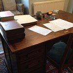 C.S. Lewis's office (furniture is a period replacement)
