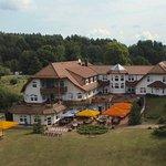 Hotel von oben