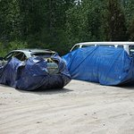 Cars prepared for Marmot invasion