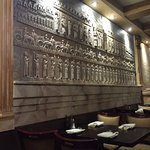 34D Il Fornaro's dining room mural - Foodie2758